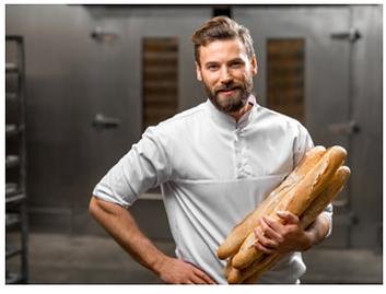 לחם צרפתי, בגטים, בגט, ייבוא מאפים, מאפייה תעשייתית, מאפים