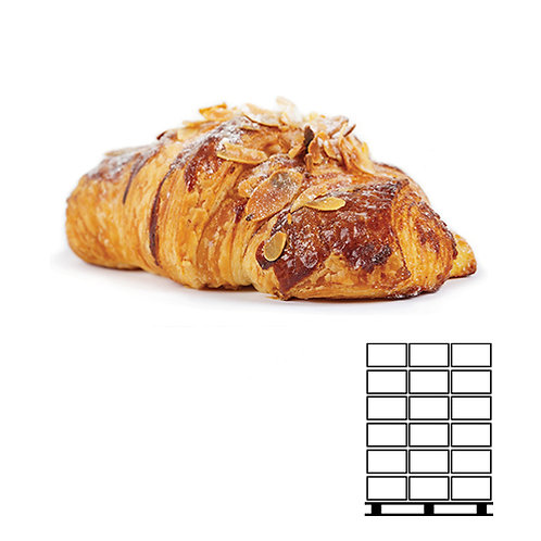 22006P - משולש שקדים - חמאה 100 ג׳ - מחיר-יחידה:3.57ש״ח