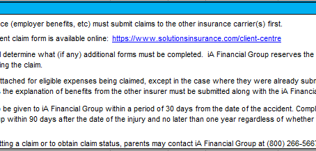 Optional Student Insurance Available