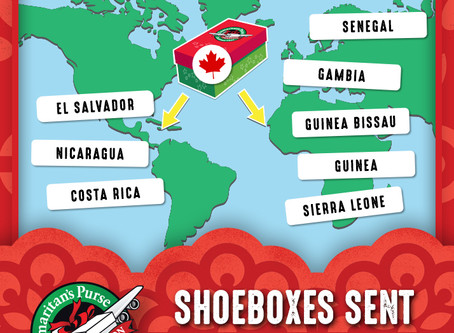 Flying Shoeboxes! A Crusade to Make Children Smile - Deadline Friday Nov. 22!