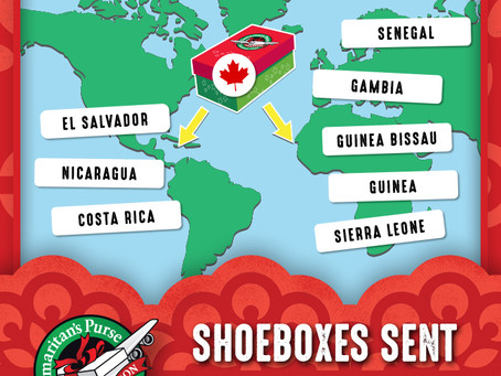 Flying Shoeboxes! A Crusade to Make Children Smile - Deadline Friday Nov. 22!