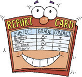 Your Crusader is bringing a report card home today!