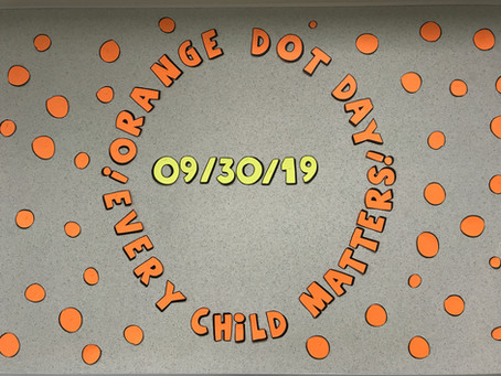 Every Child Matters - Crusader Twist Orange Dot Day