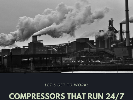 Compressors that are designed to work 24/7