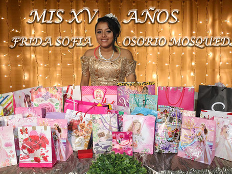 Mis XV años - Frida Sofia Osorio Mosqueda