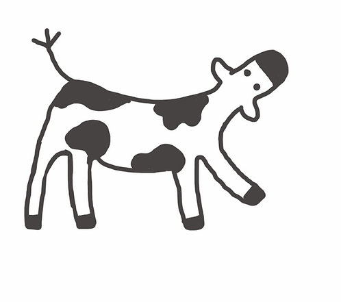 The dancing cow gift card