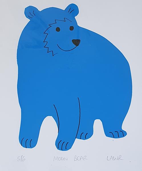 Screen Print Bear 5/6