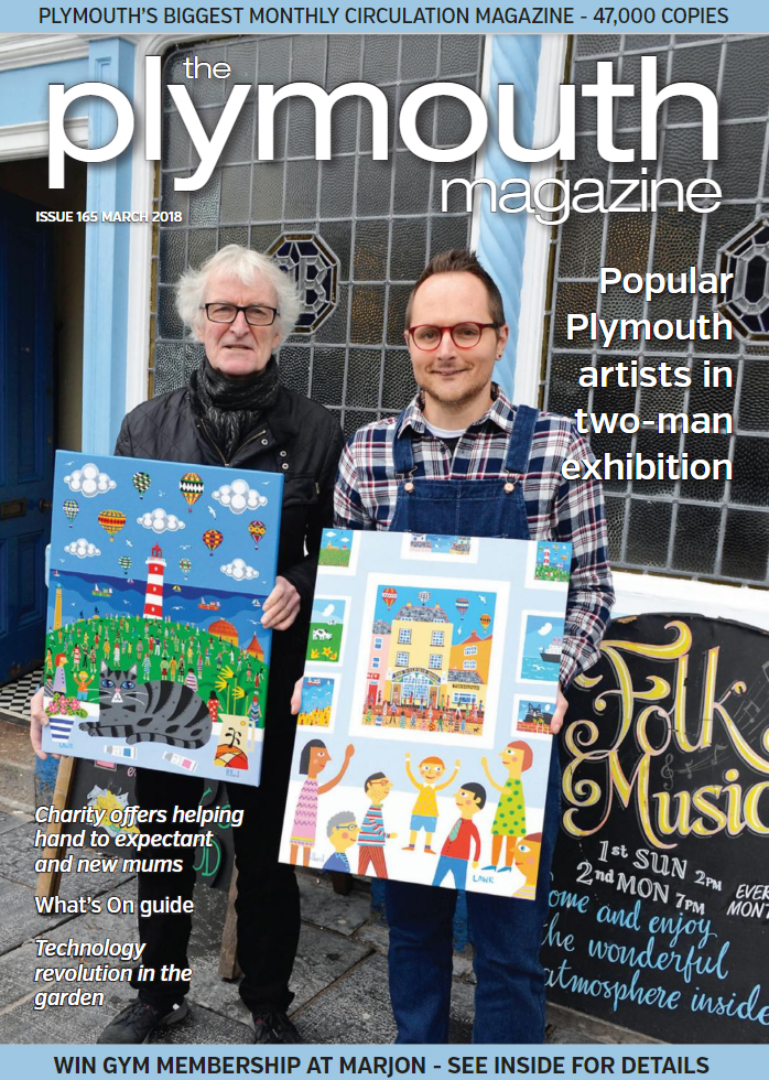 Brian and Lawrence front cover Plymouth