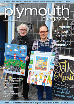 Brian and Arth front cover Plymouth