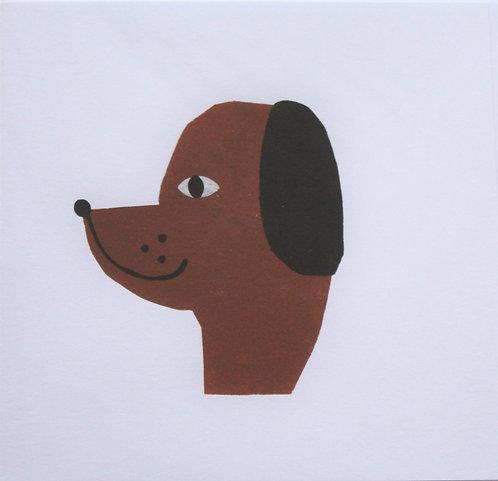 A dog gift card