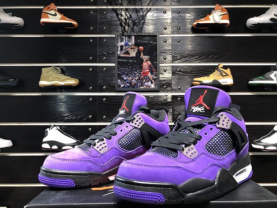 Travis Scott Air Jordan 4 Purple