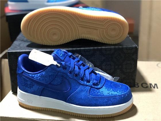 Nike CLOT AF1 BLUE SILK