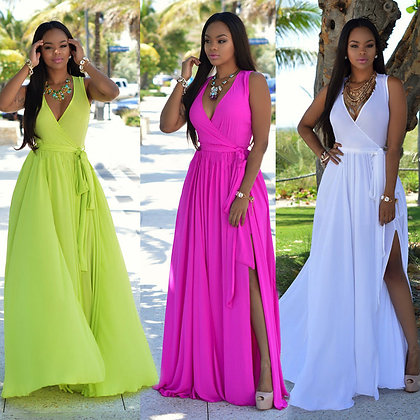 Maxi BOHO Party Dress Beach Dresses