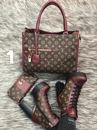 Boot Bag Wallet Set