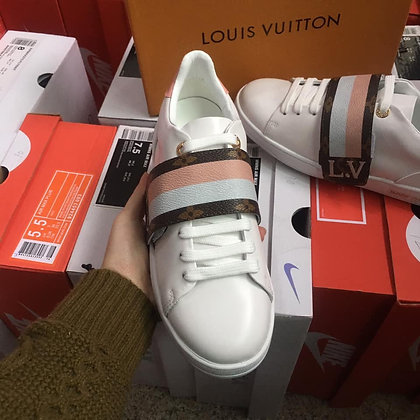 LV Off Front Row Sneaker