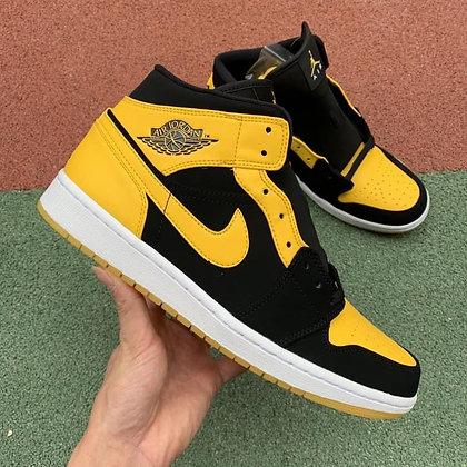 Jordan 1 2017 Black yellow