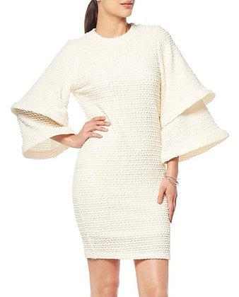 Gracia Layered Bell Sleeve Dress