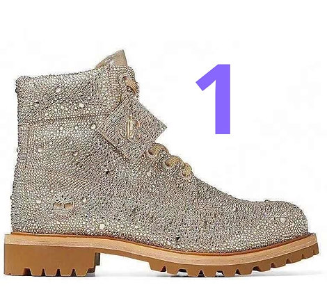 Choo Embellished Boots