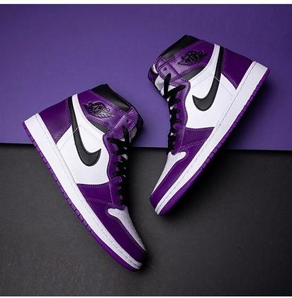 Jordan 1 Retro High Court Purple White