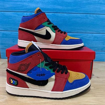 Air Jordan I Mid Blue The Great