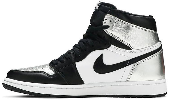 Wmns Air Jordan 1 Retro High OG 'Silver Toe'