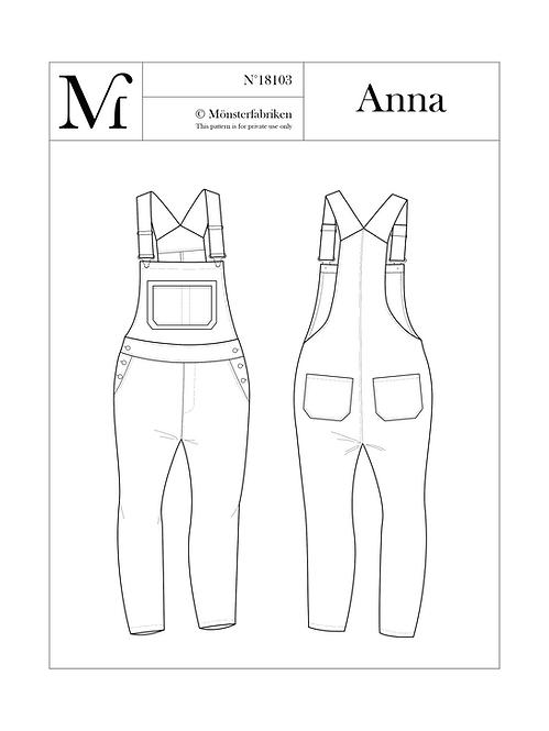 Anna 104-124 PDF Pattern
