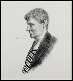 Portrait of artist Allan Richardson