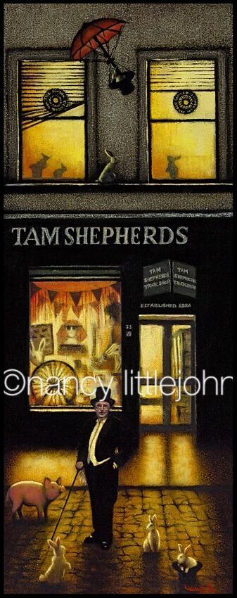 Tam Shepherds Trick Shop Glasgow