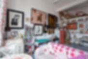 Studio of Nancy Littlejohn in South Block in Glasgows Merchant City