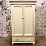 pine Victorian armoire