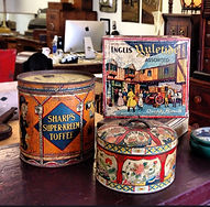 Antique collectable tins