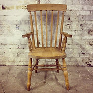 pine kitchen Windsor chair