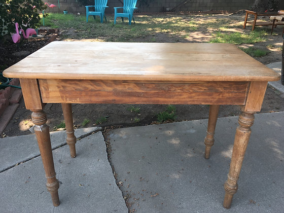 1800's Scottish Pine Kitchen Table