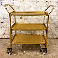 1950's tea trolley