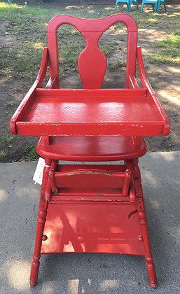 Victorian child's high chair