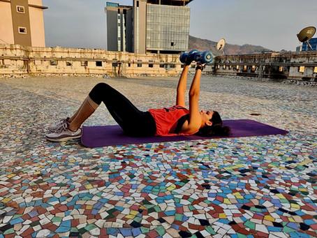 Meditating through workout