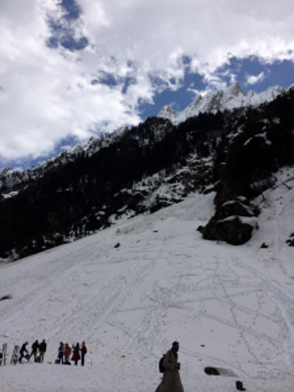 Thick glacier (sledging point)
