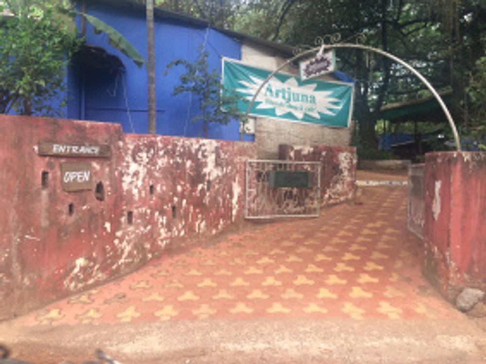 Entrance of Artjuna