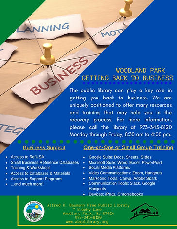 Woodland Park - Getting Back to Business