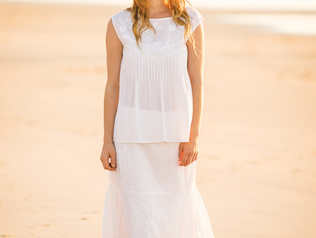 Feel Confident While Wearing White