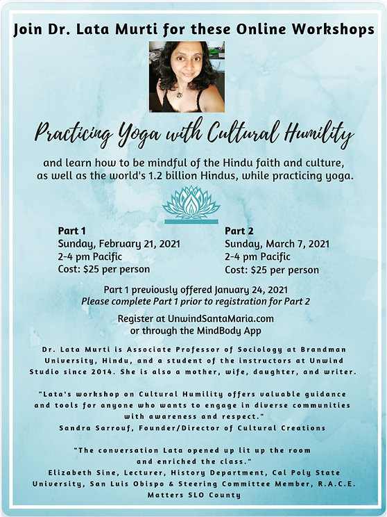 Practicing Yoga With Cultural Humility p