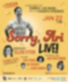 Sorry Ari Live.jpg
