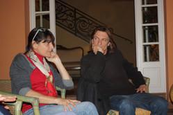 Avec Marcus MALTE