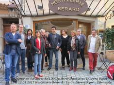 Notre séjour avec Laurent BINET