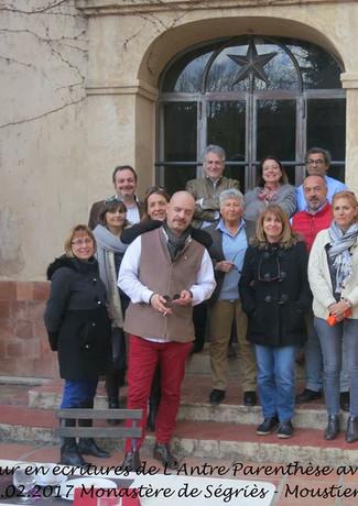 Les participants avec Maud TABASCHNIK et Eric POINDRON