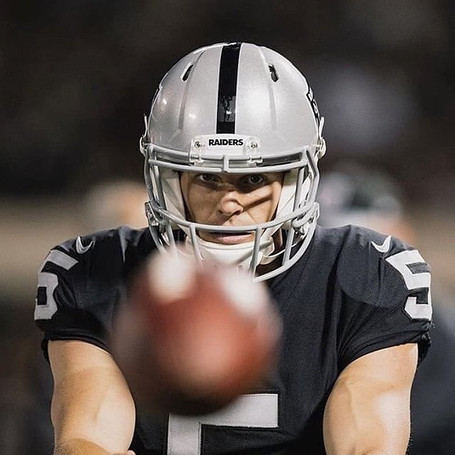 Johnny Townsend Raiders Debut