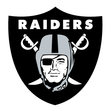 Oakland Raiders Logo and Homepage