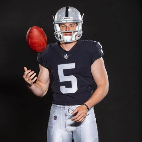 Johnny Townsend Oakland Raiders Punter #5