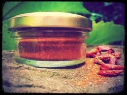 Mangomarmeladen-Sortiment