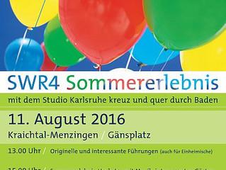 SWR 4 Sommererlebnis in Menzingen